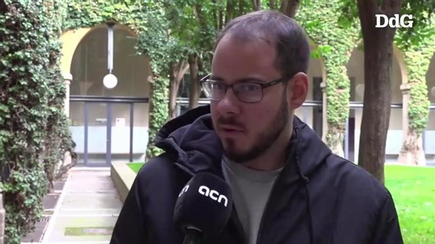 Pablo Hasél es tanca a la Universitat: «L'hauran de rebentar per empresonar-me»