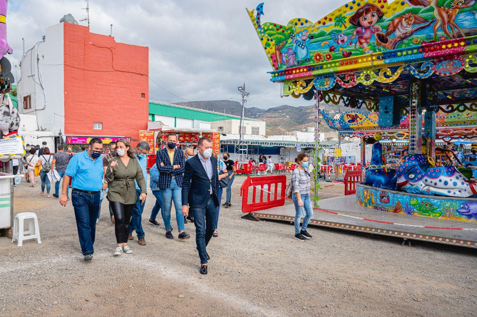 La Feria de Atracciones vuelve a Gáldar