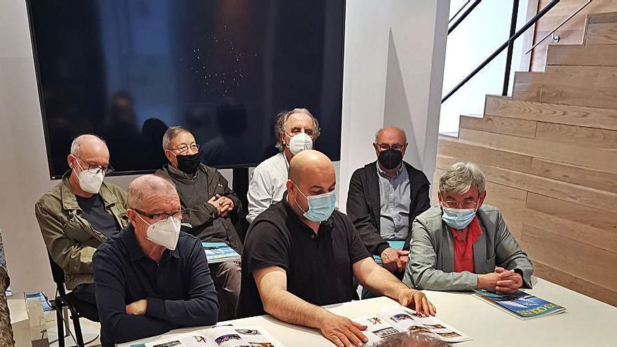 Os Galos presenta su revista en el Museo Massó