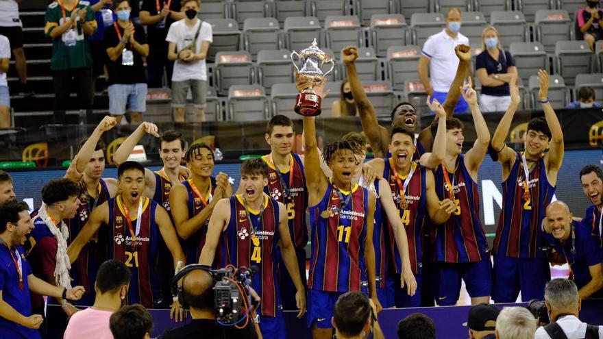 El Barça guanya l'estatal júnior amb Marc Bataller a la plantilla, tot i no ser a la fase final