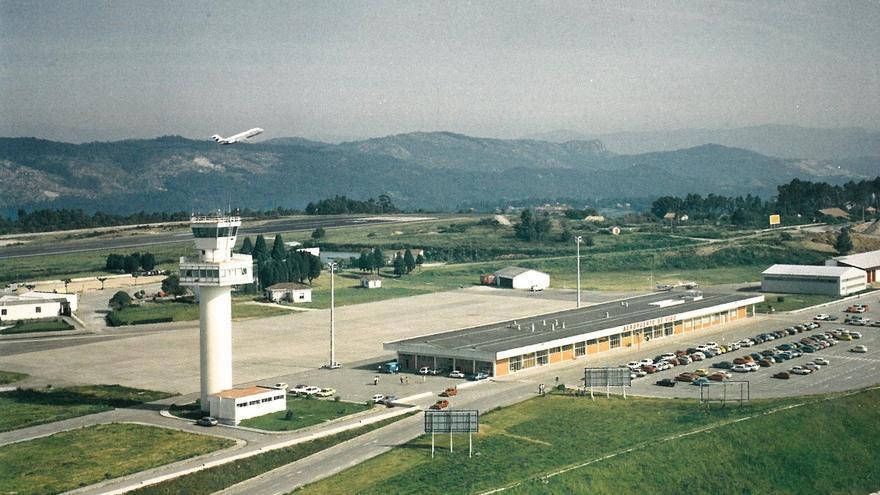 Aeropuerto de Peinador: 67 años de historia en 3 minutos