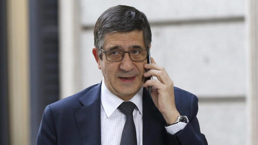 Patxi López entrará en la Ejecutiva de Pedro Sánchez como secretario de Política Federal