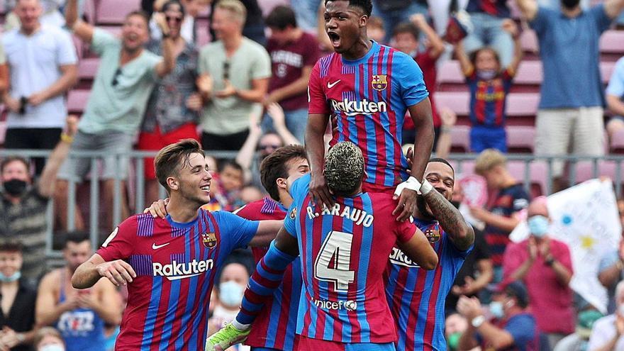 El Barça recupera la sonrisa con una goleada