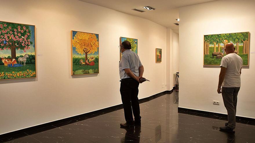 La pintura de Isabel Villar protagoniza el final del verano en Espacio 36 de Zamora