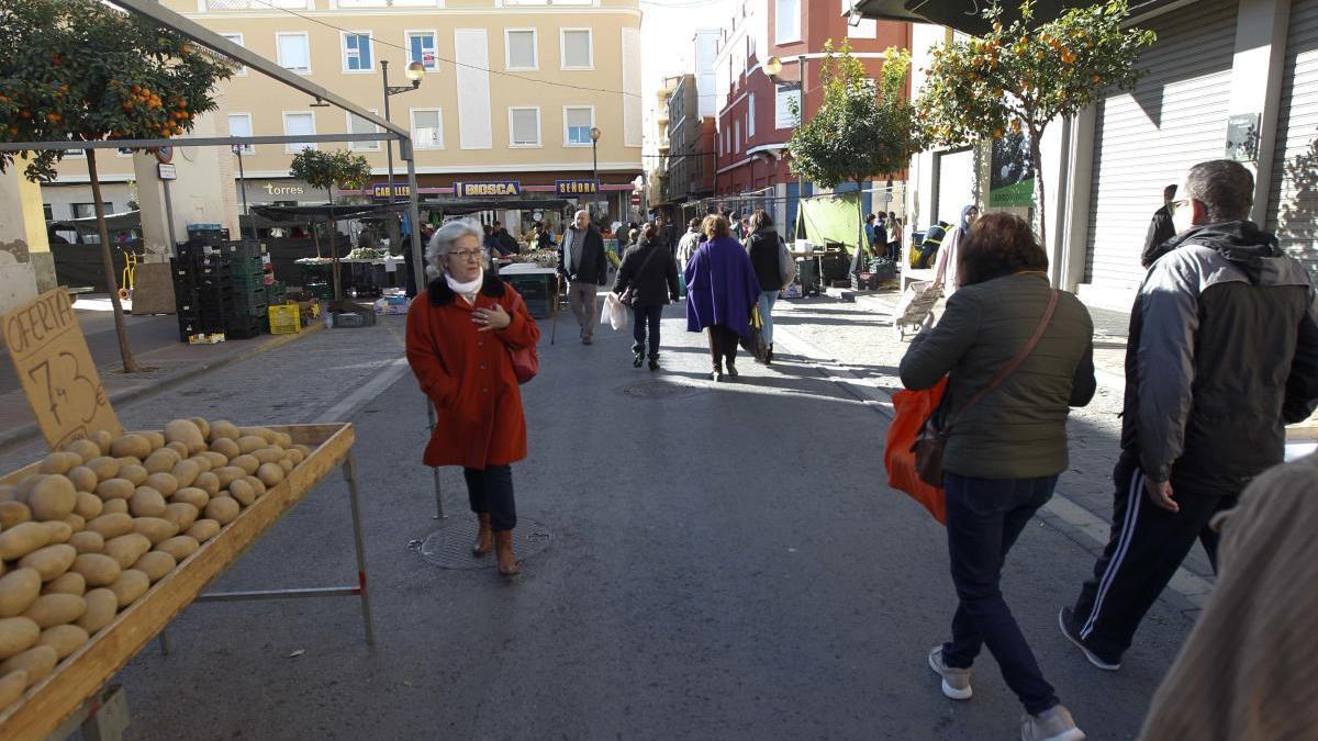 Sagunt rectifica y el sábado no habrá mercado exterior en el Port