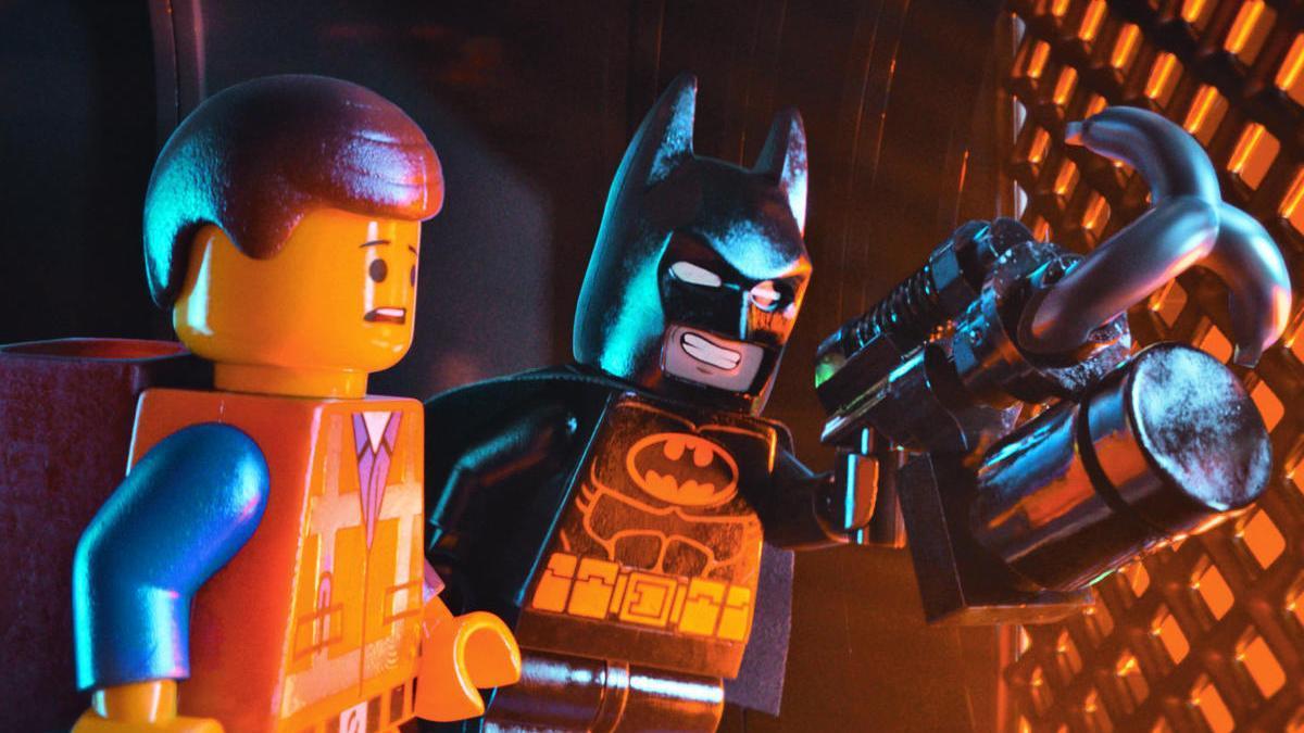 Una imagen de una película de Lego.