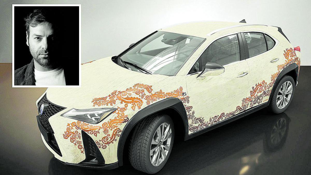 Javier Mármol y Lexus Murcia aspiran a 'vestir' el nuevo UX 250 h