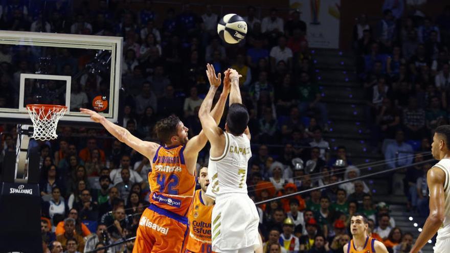El Reial Madrid destrossa al València Basket  (91-68)