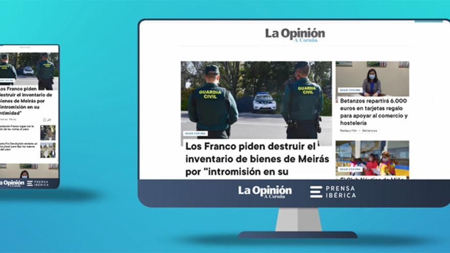 La Opinión Coruña estrena nueva web con un diseño más visual e intuitivo