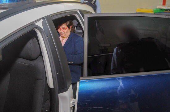Justícia fa públiques imatges inèdites del trasllat dels líders independentistes a Madrid pel judici a l'1-O
