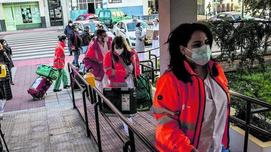 Vacunación en Zamora | La Junta prioriza la segunda dosis en las residencias