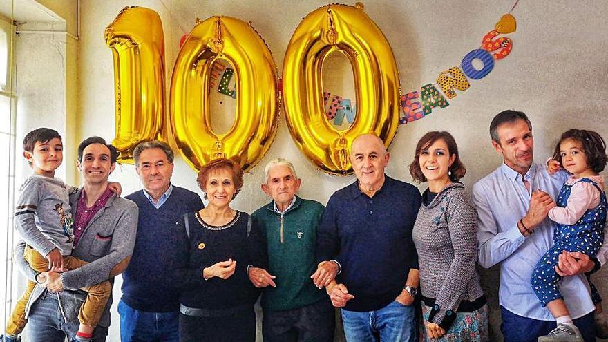 Antonio Vicente Prieto cumple 100 años en Samir de los Caños