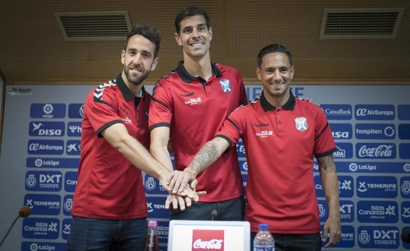 Rueda de prensa de Suso Santana, Dani Hernández y Carlos Ruiz por la renovación de sus contratos  | 27/02/2020 | Fotógrafo: Carsten W. Lauritsen