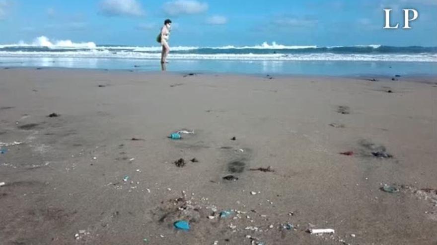 Los microplásticos invaden La Cícer