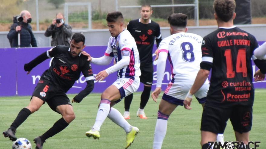 El Zamora CF cae de forma cruel en su visita al Valladolid Promesas (2-1)
