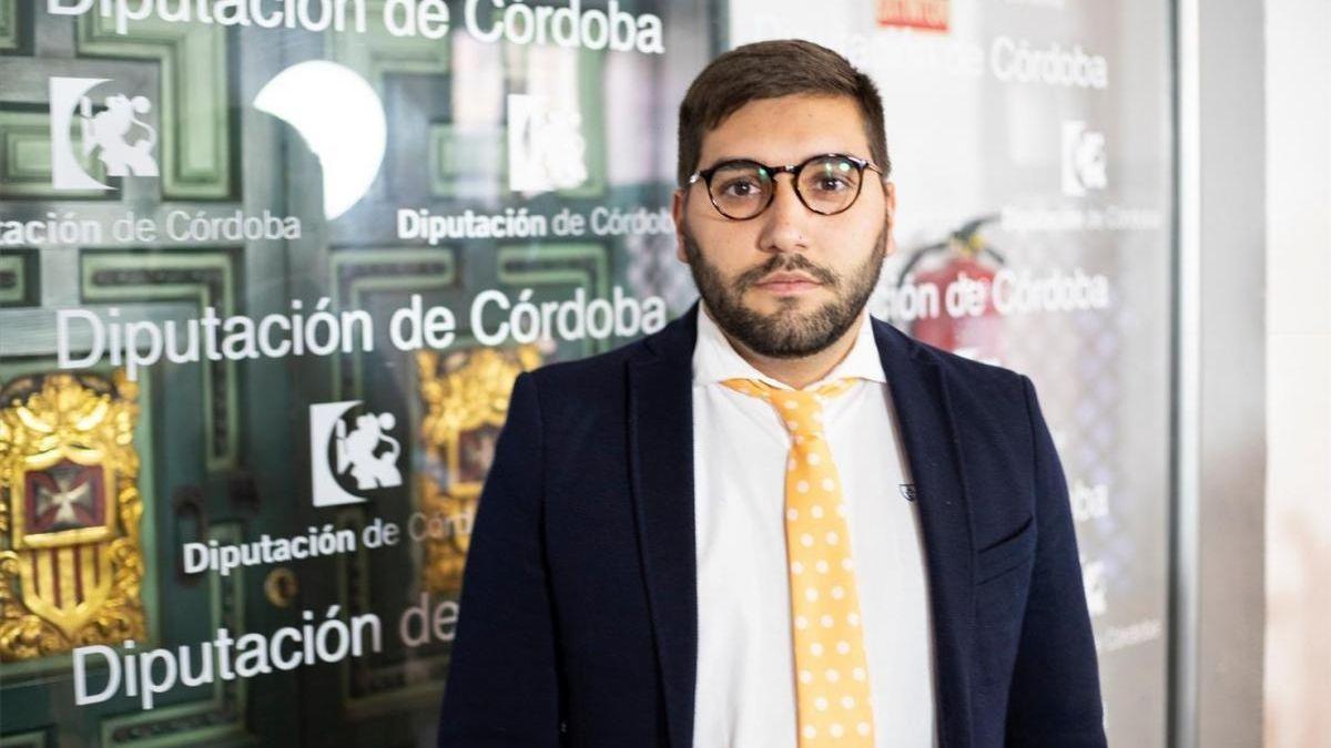 El portavoz de Ciudadanos en la Diputación, Miguel Castellano.