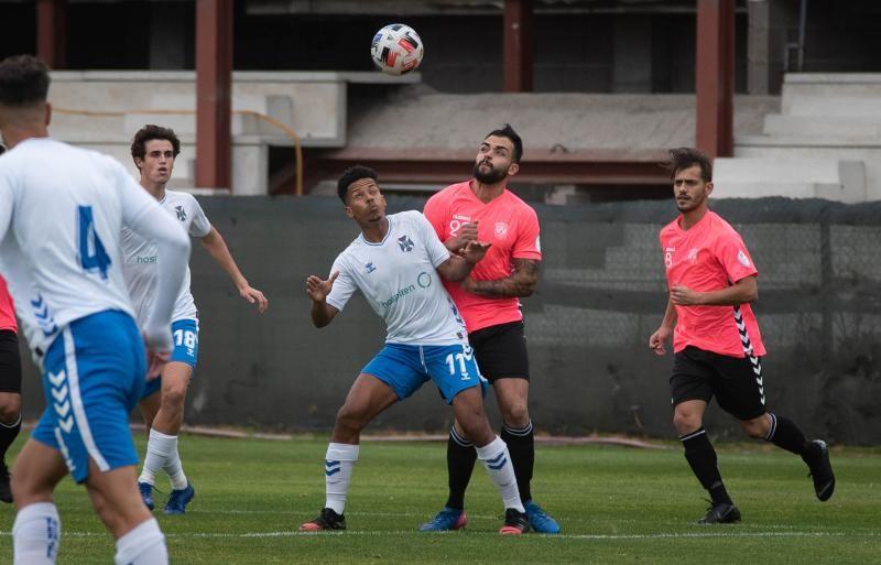 Partido de fútbol de Tercera División: Tenerife B - Vera