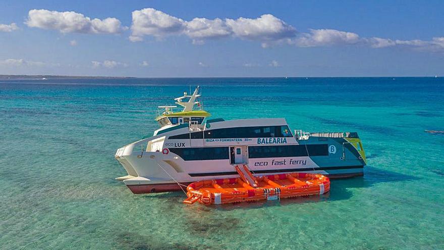 Baleària prevé trasladar el Eco Lux a Eivissa en los próximos dos días