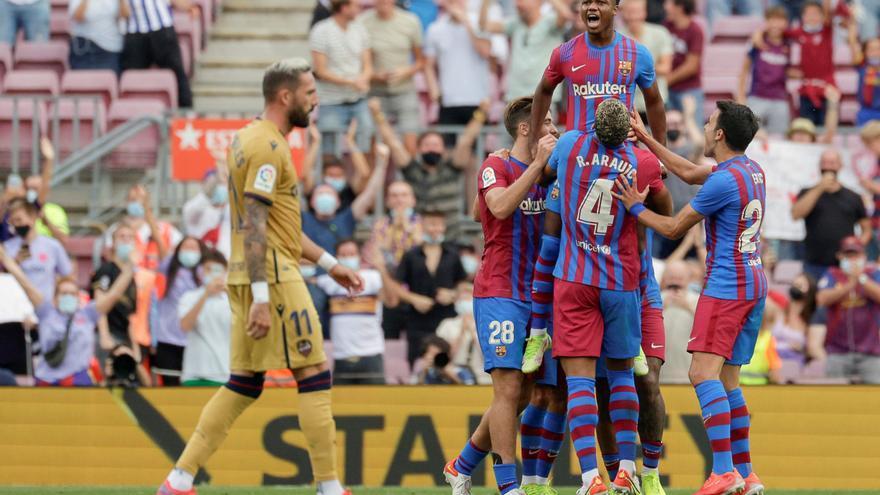 Barça - Llevant, en fotos