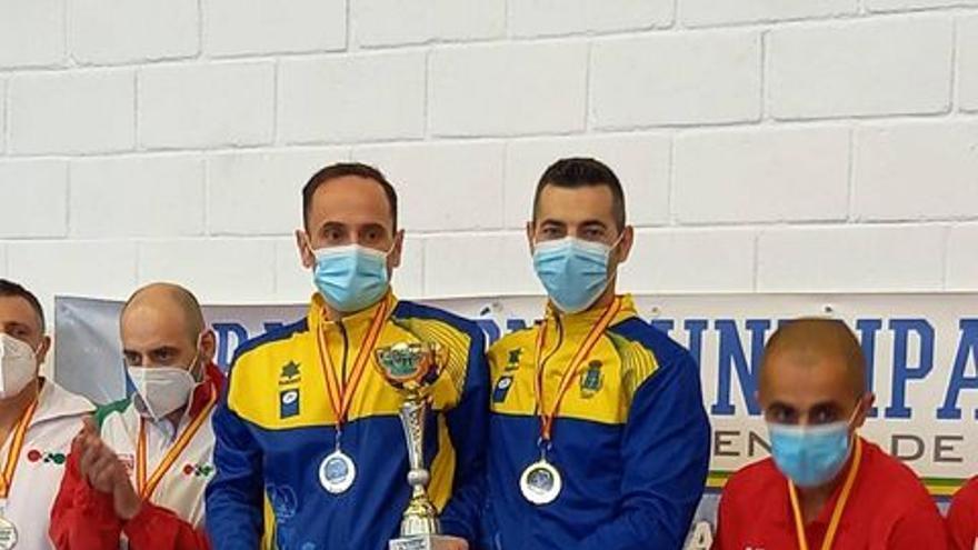 José Antonio Magadán y Alejandro Gil, oro en el Nacional de katas