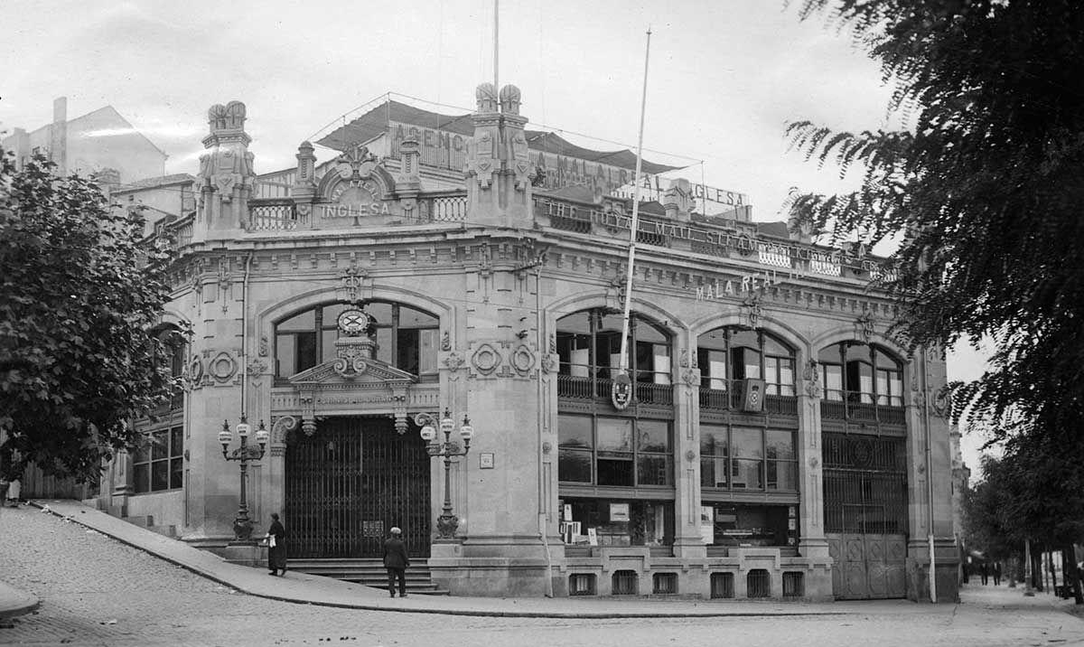 Agencia de la Mala Real Inglesa 1920 -1936