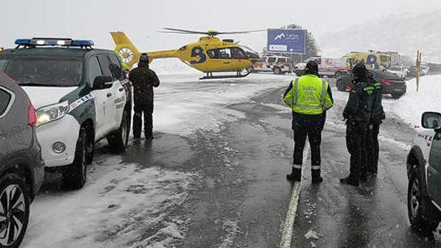 El temporal ja s'ha cobrat dues víctimes mortals