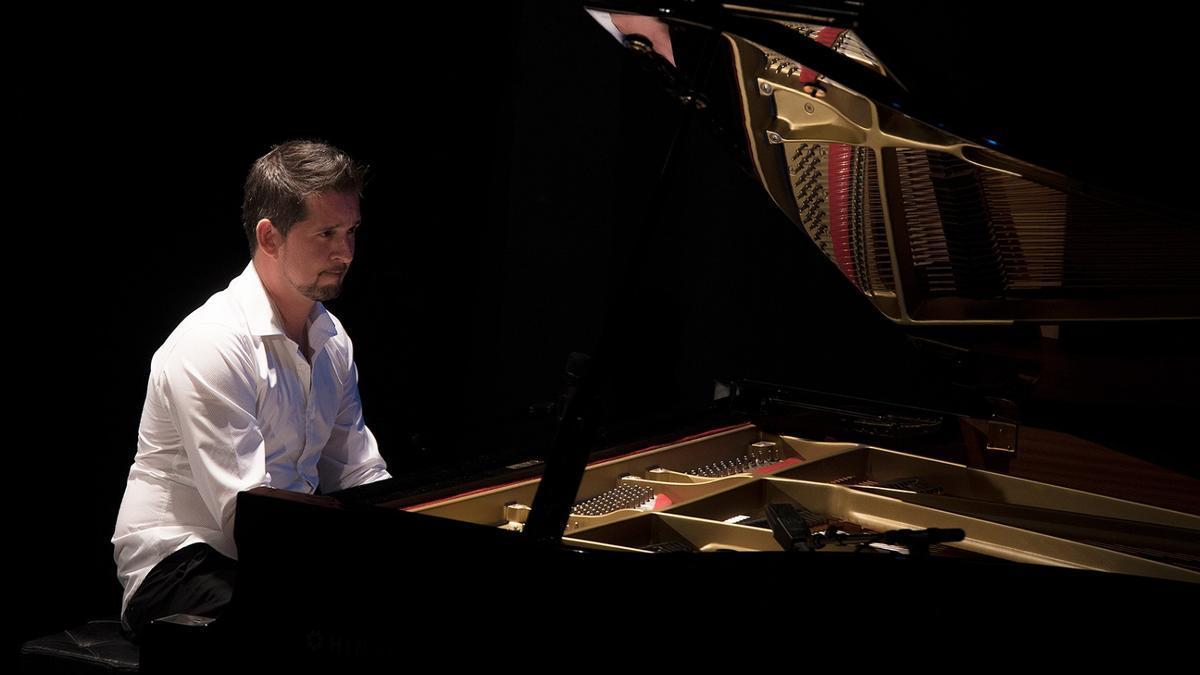 El pianista, Juan Antonio Sánchez.