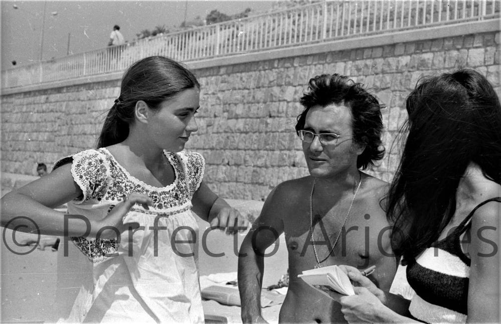 ROMINA POWER Y AL BANO EN EL XIII FESTIVAL DE LA CANCIÓN DE BENIDORM. 9 DE JULIO 1971.