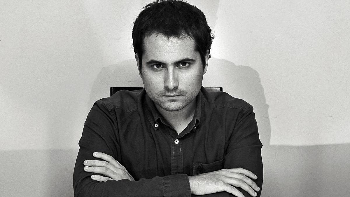 El compositor Hugo Gómez-Chao, director artístico del Resis Festival.     // XURXO GÓMEZ-CHAO