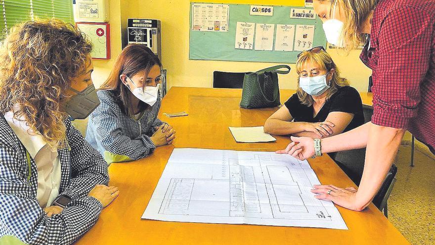 Almassora evitará el traslado a barracones del colegio Embajador Beltrán