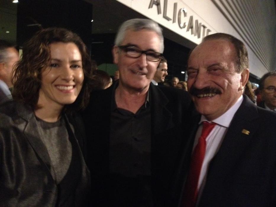 Sandra Vázquez, Luis Ivars y Roberto Pérez-Guerras