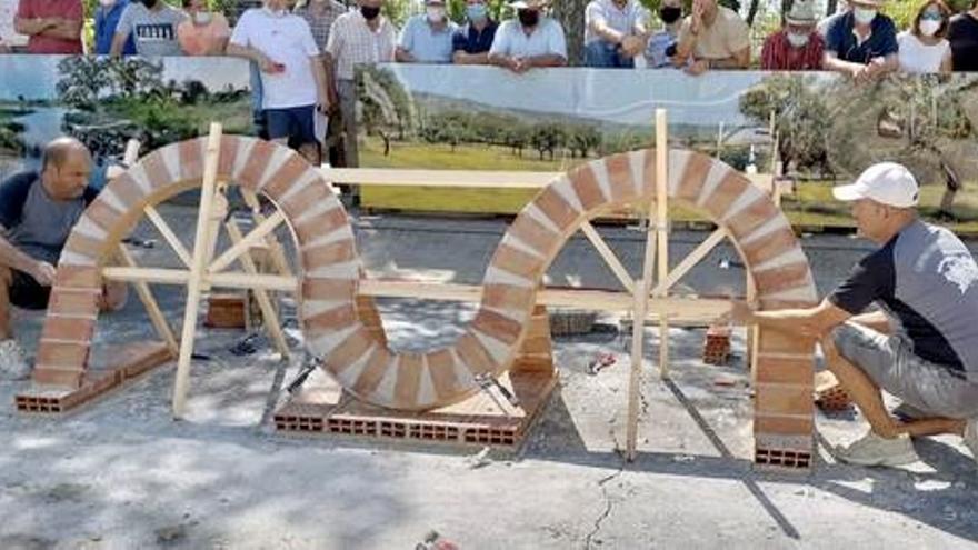 Una cuadrilla de Riolobos  gana el Concurso de Albañilería