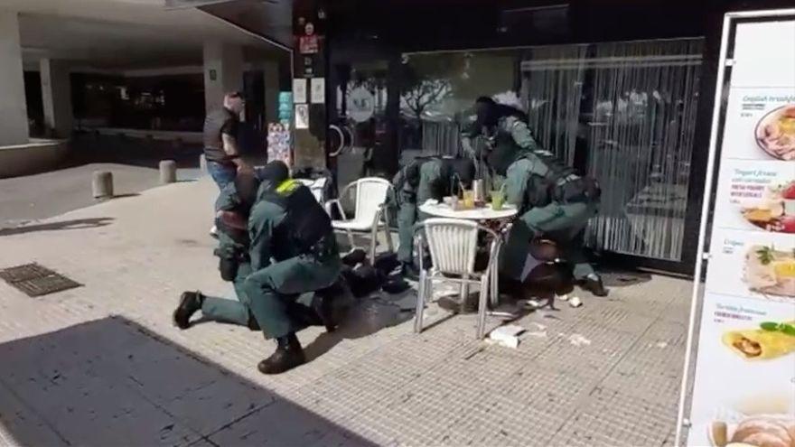 La detención más corta de la Guardia Civil: 10 segundos para captar a dos narcotraficantes
