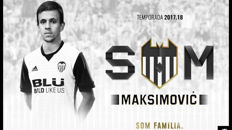 El Valencia ficha a Nemanja Maksimovic