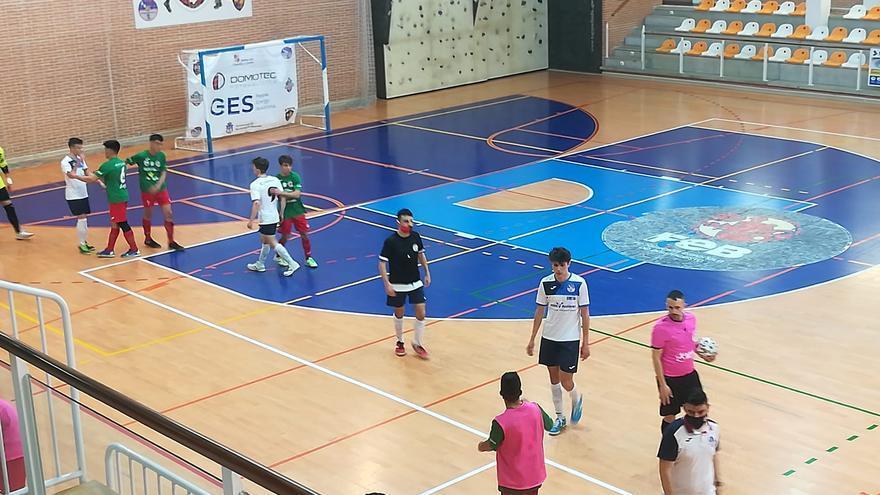 La base del fútbol sala zamorano firma buenos resultados en una jornada marcada por el derbi femenino