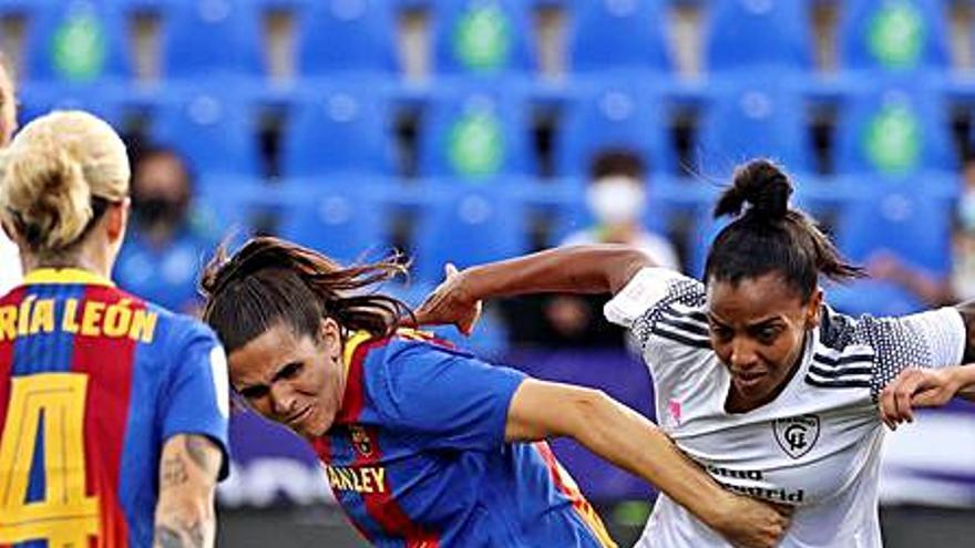 El FC Barcelona goleja el Madrid CFF i jugarà diumenge la final de la Copa