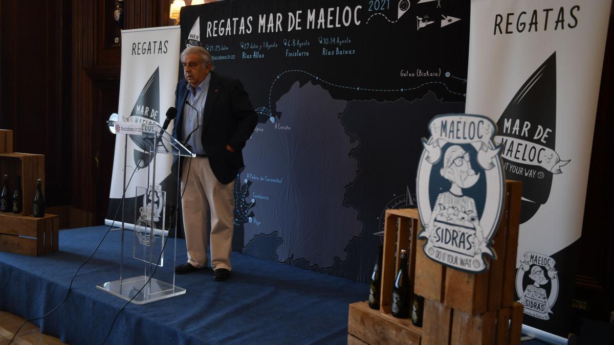 Presentación de las regatas Mar de Maeloc.