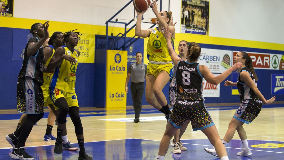 SPAR Gran Canaria visits the field of a direct rival, Campus Promete Logroño