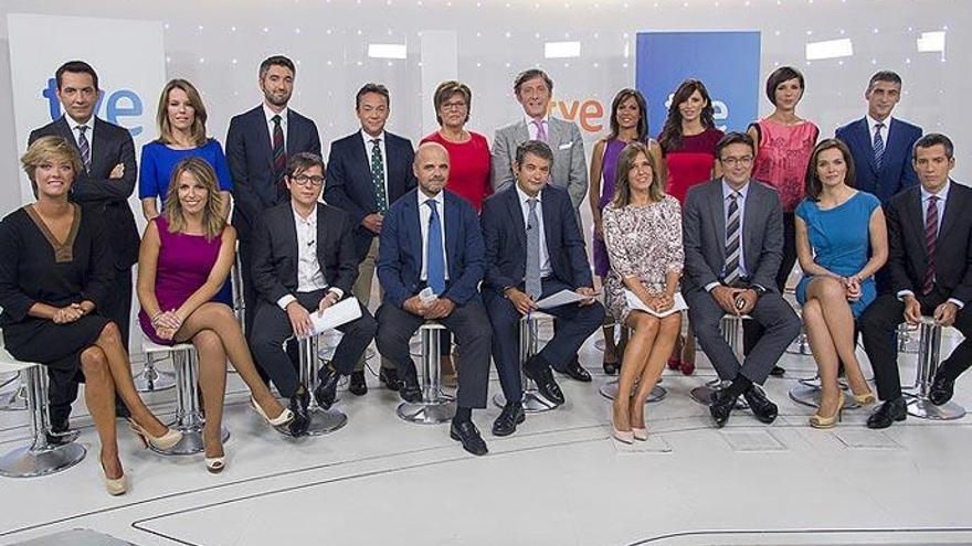 Los telediarios de TVE líderes de audiencia por cuarto mes consecutivo