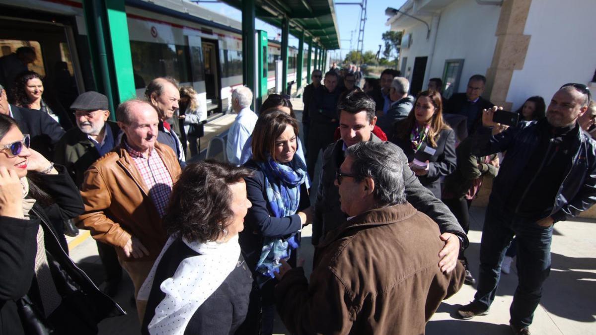 García reivindica el cercanías entre Palma del Río y Villa del Río