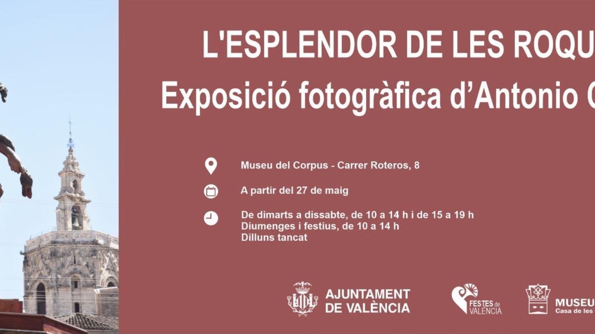 Exposición 'El esplendor de las Rocas' en el Museo del Corpus - Casa de las Rocas de València