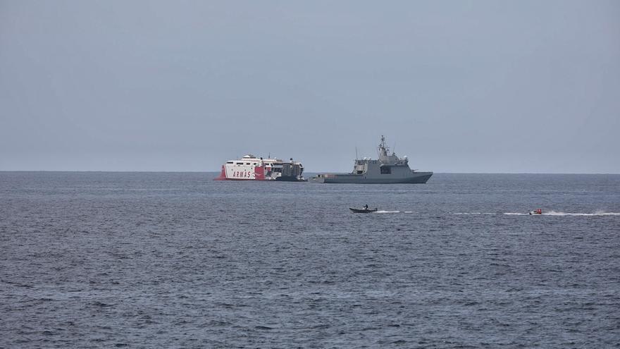 La Armada ajusta su coordinación con Capitanía Marítima y Puertos