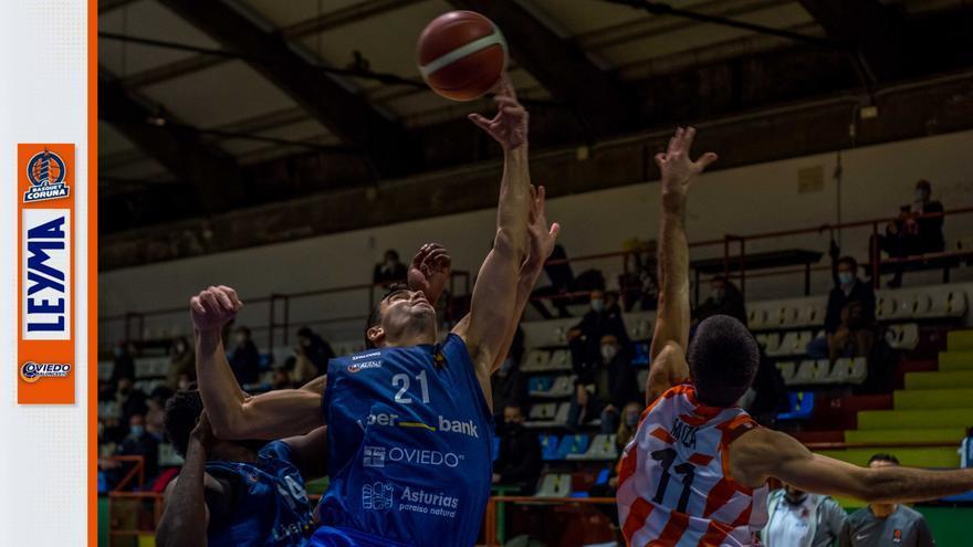 El Liberbank Oviedo Baloncesto cierra la primera parte de la Liga con un importante duelo ante el Leyma Coruña