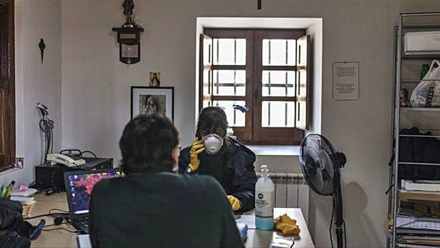 Coronavirus en Zamora | Un cobijo mientras dure la pandemia en la ciudad