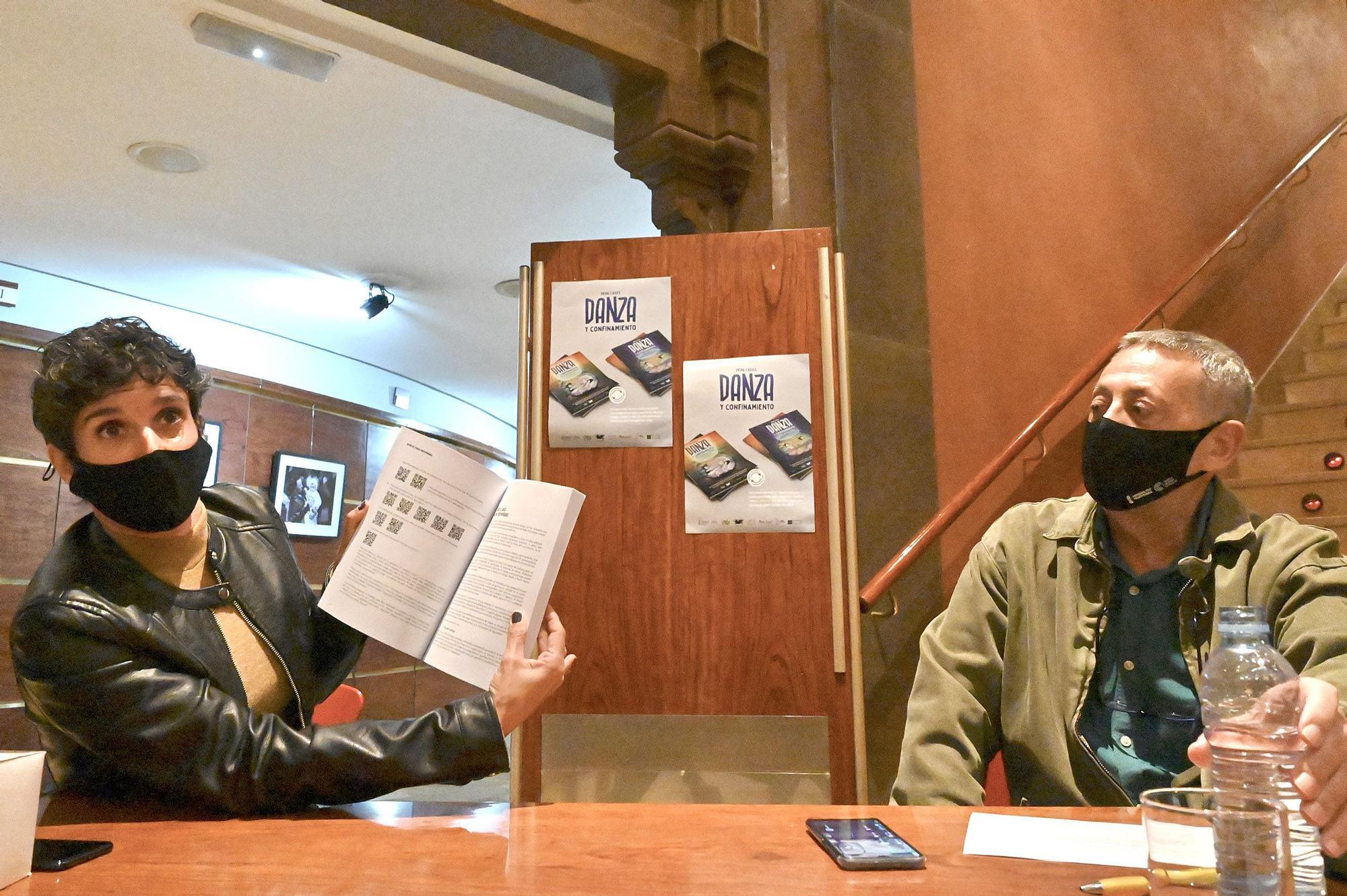 Pepa Cases presenta su libro 'Danza y confinamiento'