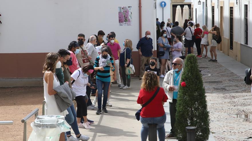 Los Patios de Córdoba rebosan turistas