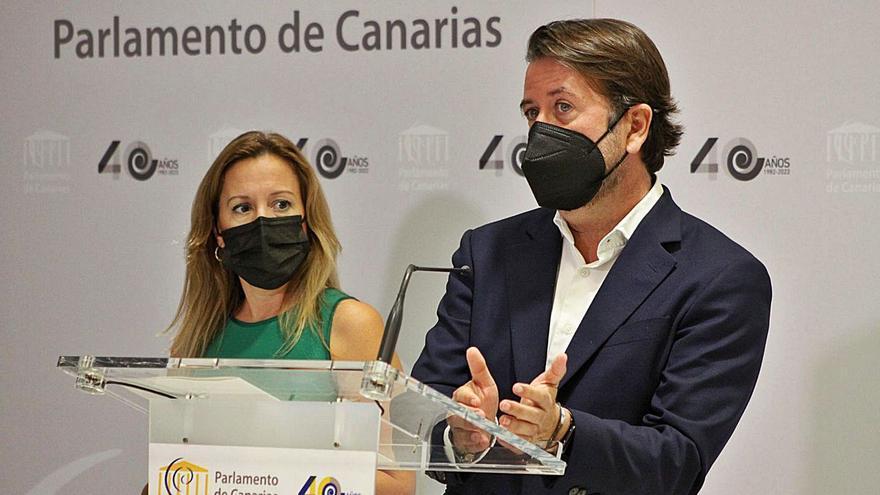 CC critica la pasividad del Gobierno canario sobre la nueva terminal de Tenerife Sur