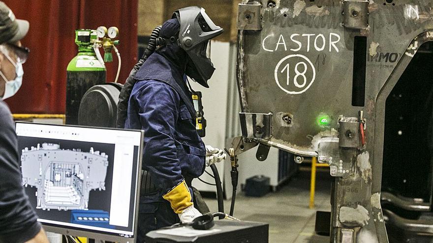 Santa Bárbara gastará 14 millones en modernizar la Fábrica de Armas de Trubia