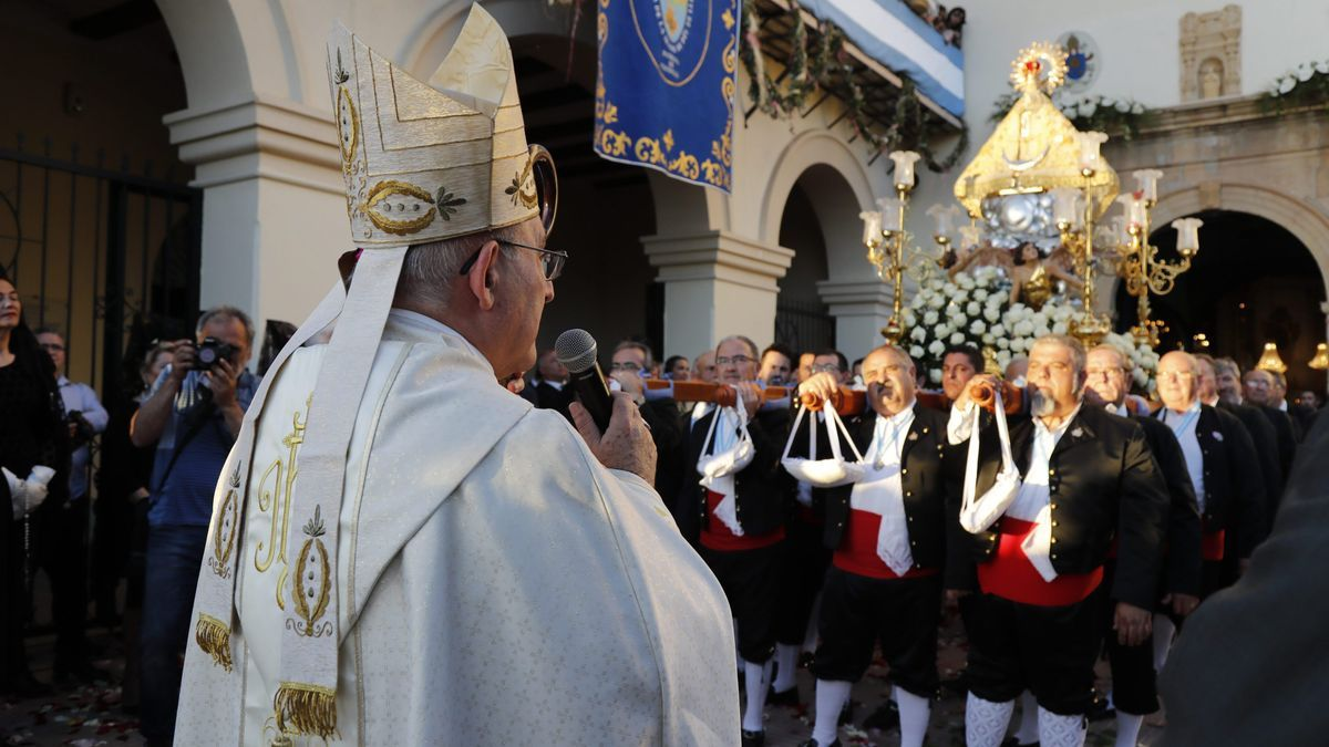 Imagen de archivo de la procesión general de hace dos años.