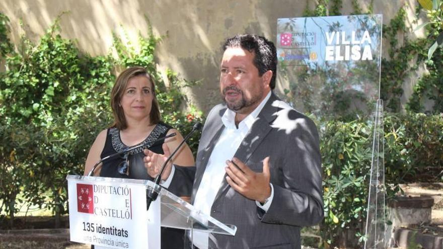 La Diputación y el Ayuntamiento financiarán las obras de Villa Elisa